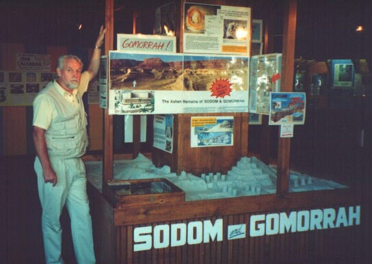 Ron Wyatt at the Sodom and Gomorrah exhibit