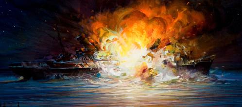 sinkingexplosion