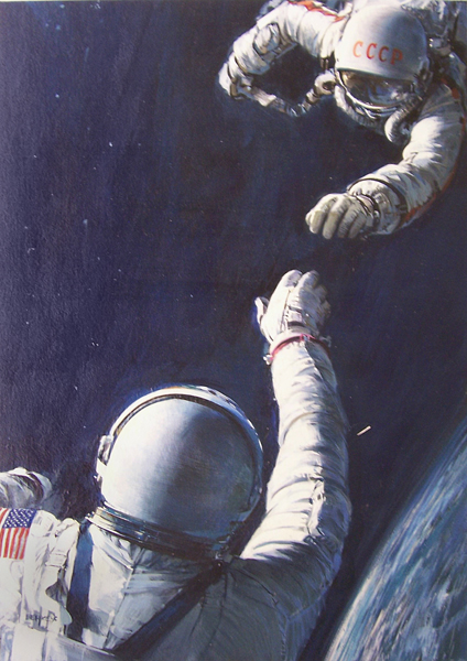 astronaut falling from space to earth - photo #13